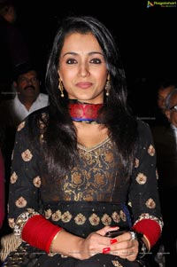 Trisha at Santosham South Indian Film Awards 2012