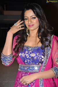 Udaya Bhanu in Pink Dress