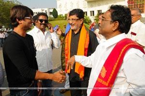 Tollywood Film Industry Shanti Yatra