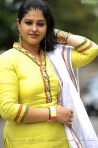 Raasi in Yellow Dress - High Resolution Posters