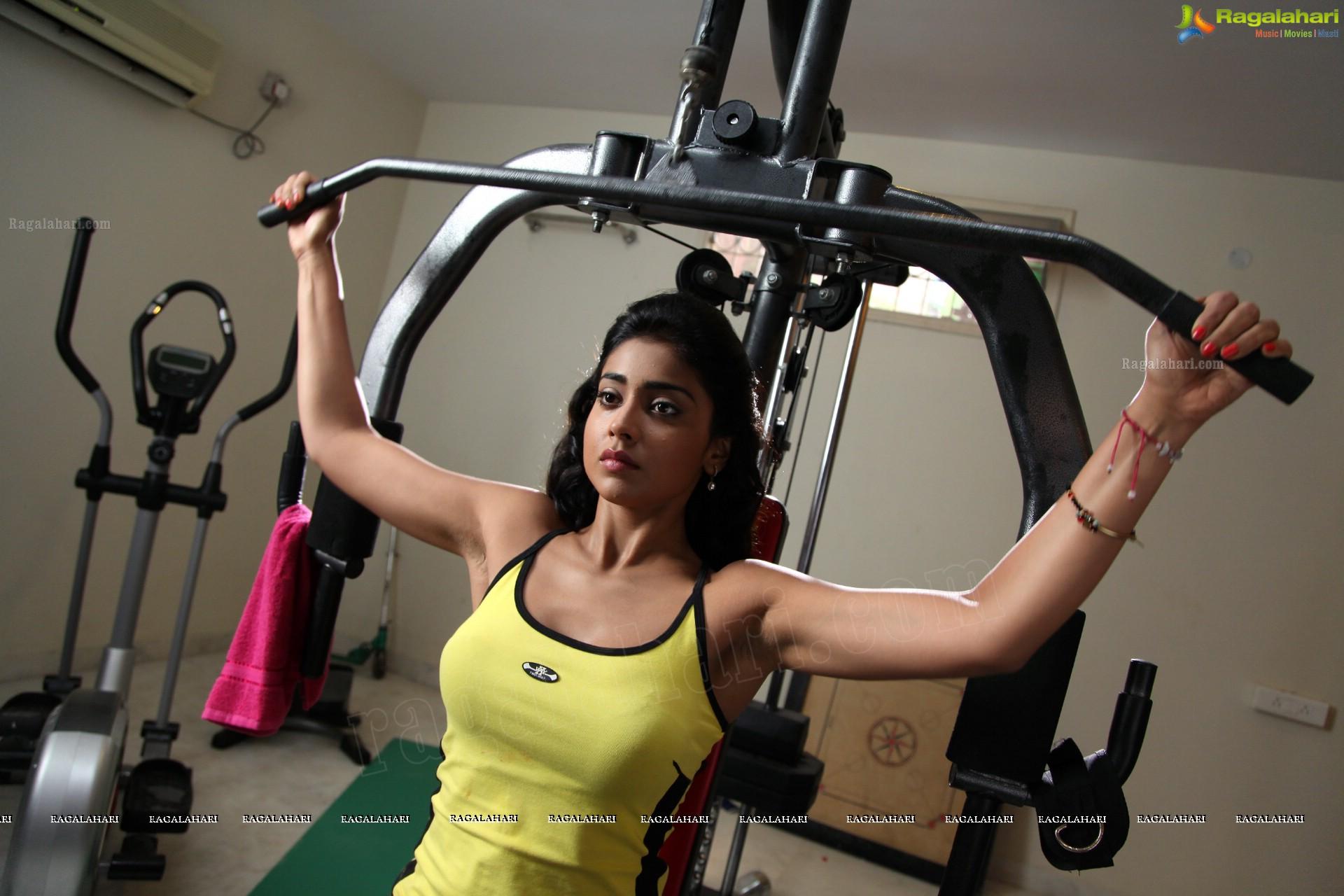 Shriya Saran Gym