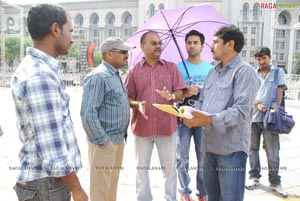Mugguru Working Stills