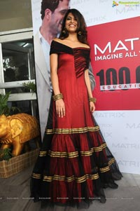 Parvathy Omanakuttan at Matrix Salon, Hyderabad