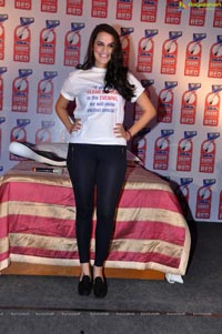 Neha Dhupia in T Shirt