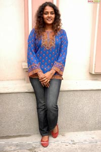 Sonia at Vinayakudu Success Meet